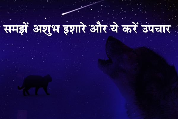 Understand ominous gestures and Treatment - Jyotish Nidan in Hindi
