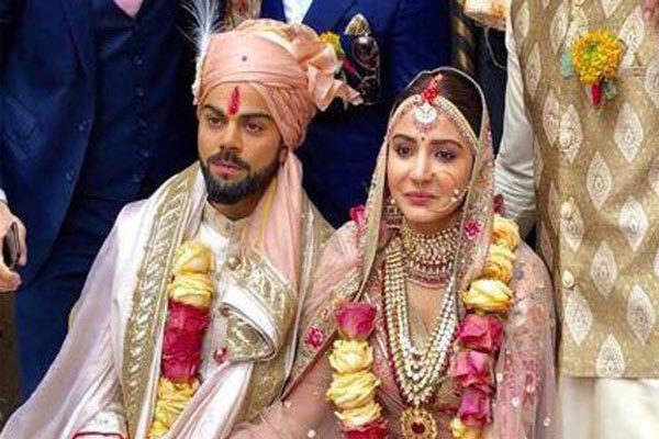 Virat Kohli and Anushka sharma get married - Bollywood News in Hindi