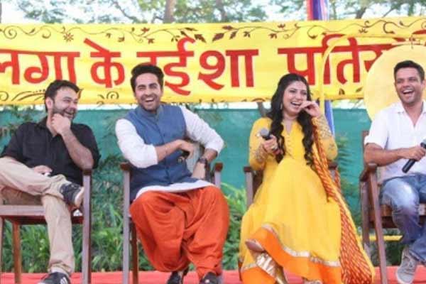Ayushmann, Bhoomi talent made Dum Laga Ke Haisha a success: Sharat Kataria - Bollywood News in Hindi