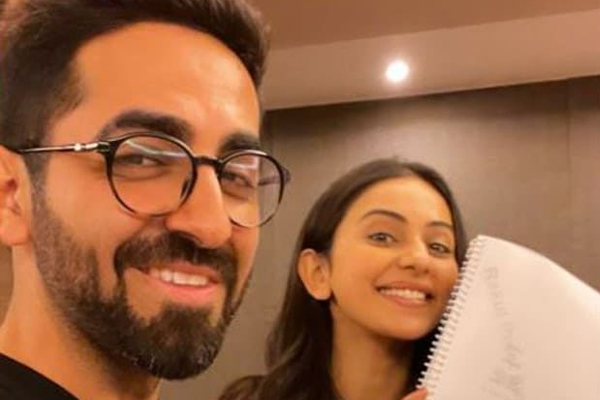 Ayushmann Khurrana and Rakul Preet Singh started reading session of Junglee Pictures - Bollywood News in Hindi