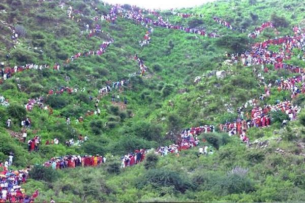 24 Kosi Parikrama of Baba Malkheet, millions of pilgrims to be inducted - jhunjhunu News in Hindi