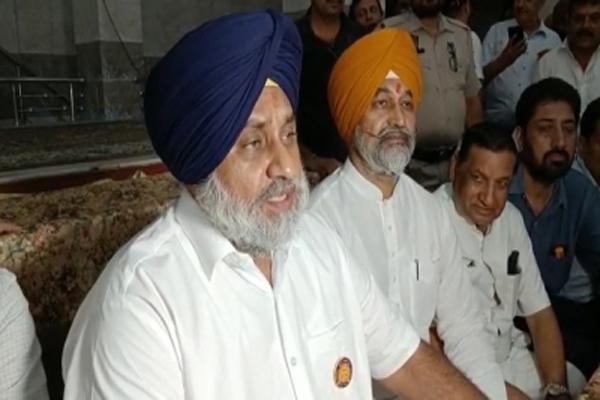 SAD delegation to visit Lakhimpur Kheri - Sukhbir Badal - Punjab-Chandigarh News in Hindi