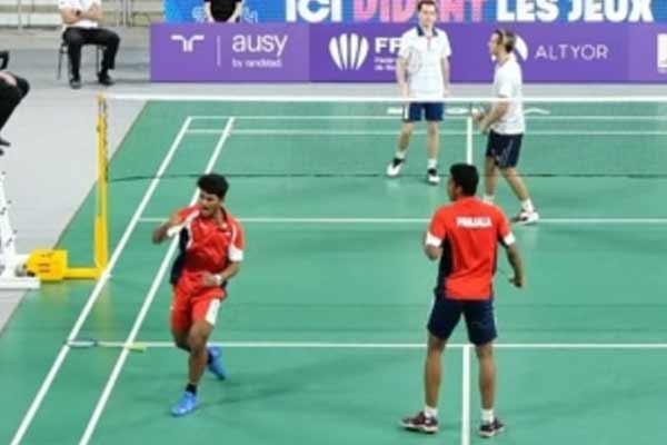 Badminton: India Garaga-Panjala Orleans Masters in men doubles final - Badminton News in Hindi