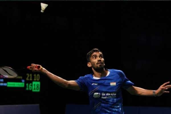 Badminton: Kidambi Srikanth reaches quarter-finals of Orleans Masters - Badminton News in Hindi