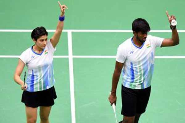 Badminton: Rankireddy and Ashwin pair in second round of Swiss Open - Badminton News in Hindi