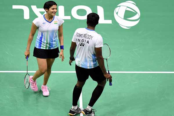 Badminton: Satwik-Ashwin in mixed doubles semifinals of Thailand Open - Badminton News in Hindi