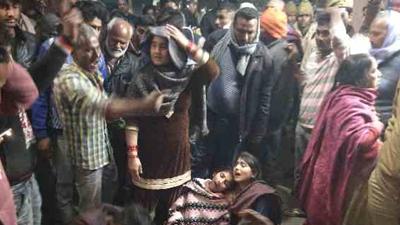 Uttar Pradesh: BJP leader shot dead by unknown assailants in Bahraich - Bahraich News in Hindi