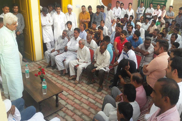 Farmers crops poorly due to rain, demand for compensation - Kaithal News in Hindi