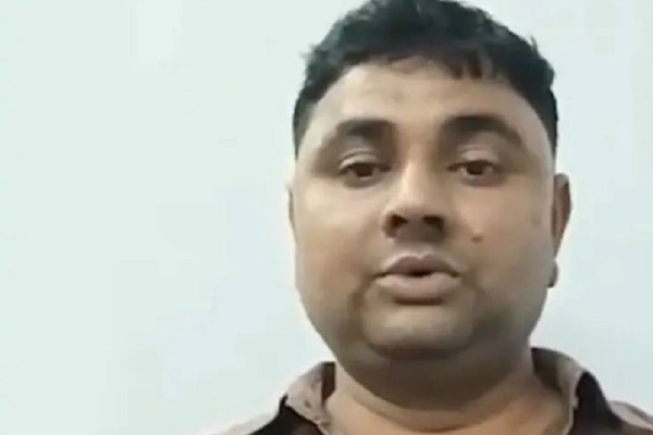Video of Dhirendra accused of UP Ballia shootout viral, told himself innocent - Lucknow News in Hindi