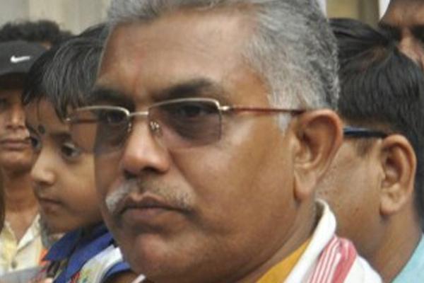 Bengal BJP chief Dilip Ghosh shown black flags in Darjeeling - Kolkata News in Hindi