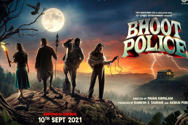 Bhoot Police to hit theatres on September 10 - Bollywood News in Hindi