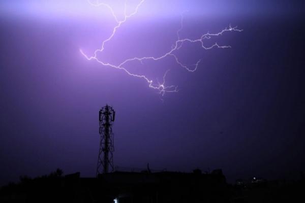 Mali dies due to lightning strikes in Gurugram - Gurugram News in Hindi