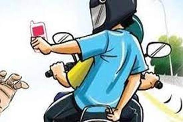 जयपुर में बाइक सवार बदमाश छीन ले गए युवक से मोबाइल
