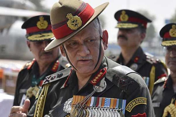 Army Chief Bipin Rawat said: No threat in Punjab, but vigilance is necessary - Pathankot News in Hindi
