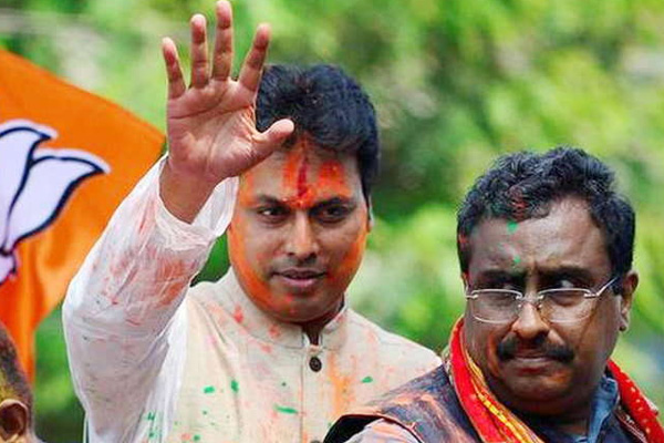tripura chief minister biplab deb latest tagore returned nobel prize in protest - Agartala News in Hindi