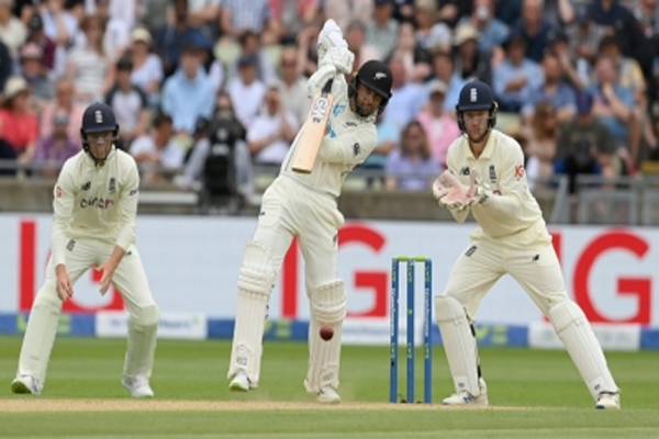 Birmingham Test: Conway and Young fifty, New Zealand strong - Cricket News in Hindi