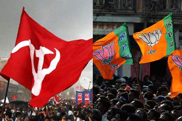 Before assembly elections in Tripura, war of words heats up between CPM and BJP - Agartala News in Hindi