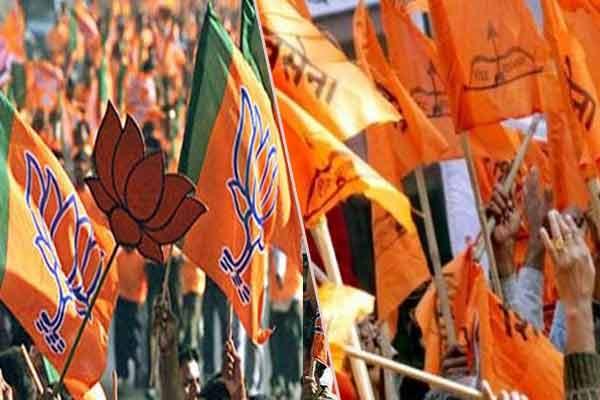 BJP Modi Modi,  Shiv Sena Chor Hai, Chor Hai rants in BMC - Mumbai News in Hindi