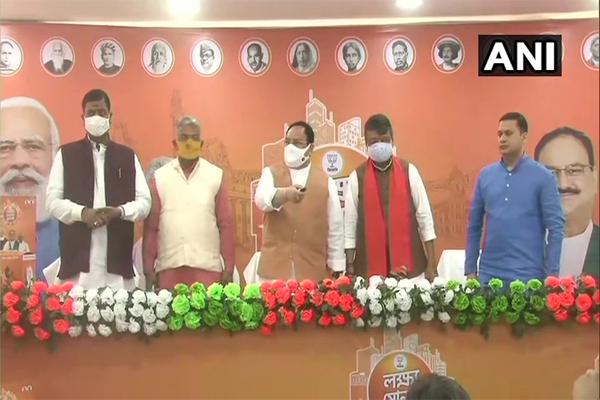 BJP Lokho Sonar Bangla manifesto crowdsourcing campaign started in West Bengal, - Kolkata News in Hindi