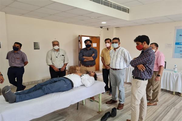 रक्तदान-महादान, इससे जीवन बचाया जा सकता है - जलदाय मंत्री