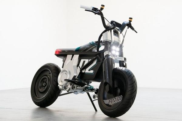 BMW unveils CE 02 electric mini-bike - Automobile News in Hindi