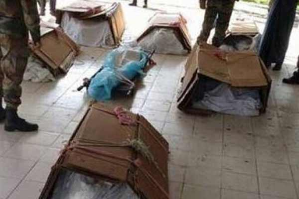 army wants body bags caskets lying in warehouse for 17 years - India News in Hindi