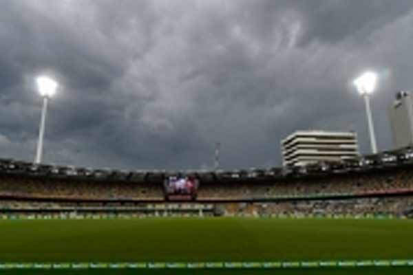 Brisbane Test: Fourth day play ends early due to rain - Cricket News in Hindi