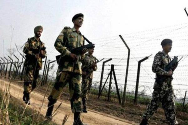 BSF killed Pakistani intruder in Punjab - Punjab-Chandigarh News in Hindi