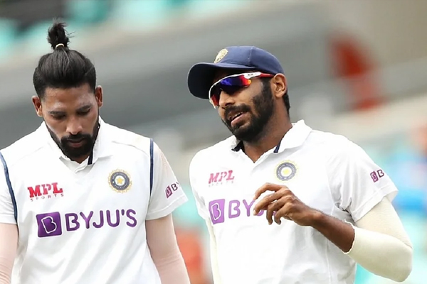 Bumrah wears wrong jersey, returns to dressing room to change it - Cricket News in Hindi