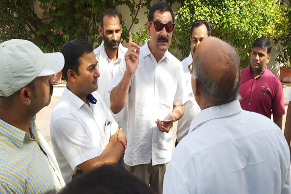 Former Union Minister of State Bhavar Jitendra Singh presented in the court about the proprietary dispute - Bundi News in Hindi