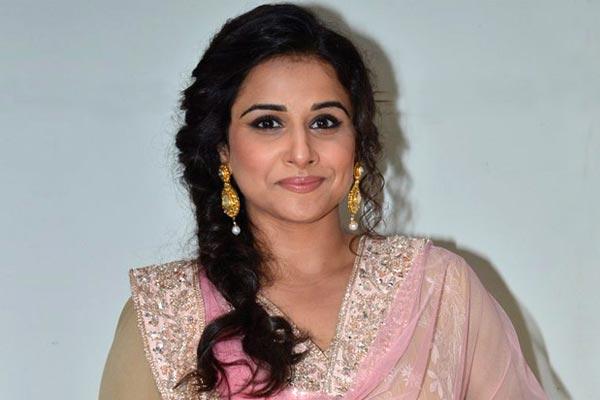 Interesting fact about Vidya balan - Bollywood News in Hindi