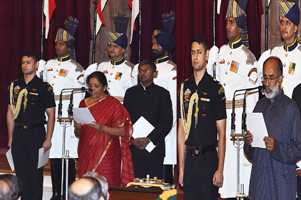 modi cabinet reshuffle: 3 ministers in English and others take oath in Hindi - India News in Hindi