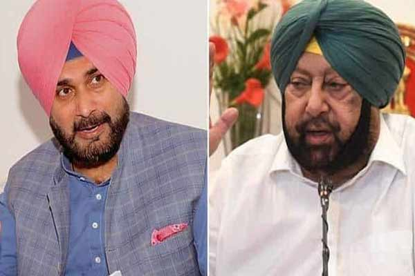 After Punjab Congress President Navjot Singh Sidhu resignation, Captain Amarinder said, he is not a stable person - Punjab-Chandigarh News in Hindi