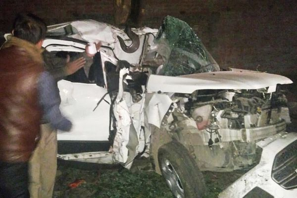 five friend dead in car accident in kanpur - Kanpur News in Hindi