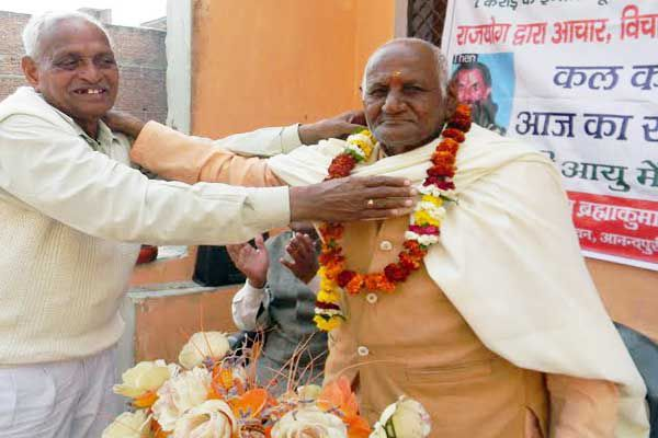 Meet 94-year-old pancham singh which was trembling Chambal - Hathras News in Hindi