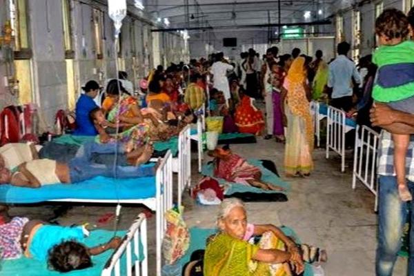 chamki fever killed 164 children, kanhaiya kumar visit skmch hospital - Muzaffarpur News in Hindi