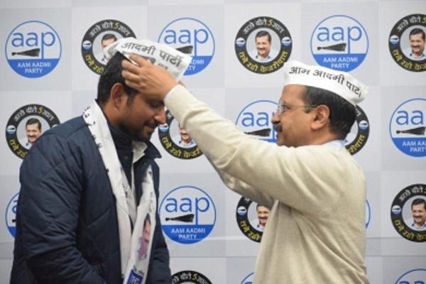 Congress gets a big shock in Delhi, 2 leaders join AAP - Delhi News in Hindi