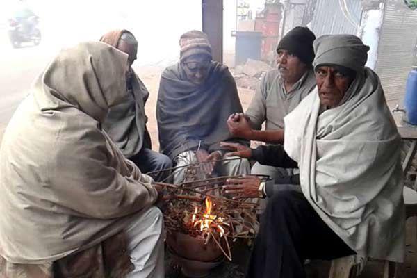 Winter havoc, causing mercury deposition at point - Churu News in Hindi