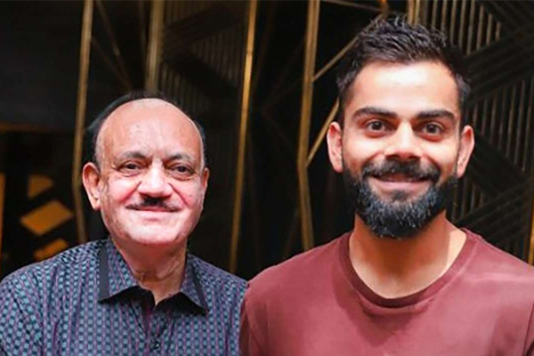 CK Khanna meets Virat Kohli - Cricket News in Hindi