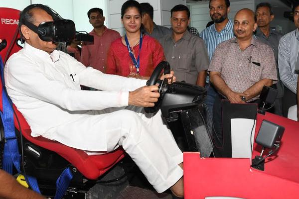 Chief Minister reaches Bhamashah TechnoHub and State Data Center - Jaipur News in Hindi
