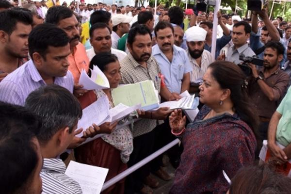 Vasundhara Raje Shakti Demonstration Yatra is now limited to religious pilgrimage - Jaipur News in Hindi
