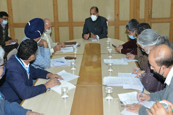 Chief Minister directed to complete all the fourlane projects within the prescribed limit - Shimla News in Hindi