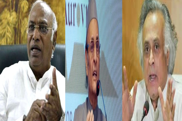 congress leaders Kharge, Ramesh, Karan Singh dropped from Nehru Memorial Museum and Library Society - Delhi News in Hindi