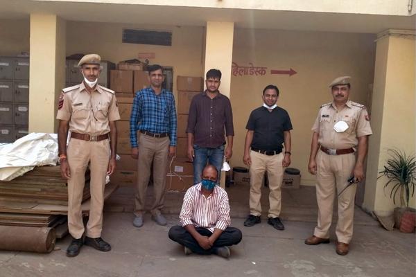 5 करोड़ रुपए कीमत की नकली दवा बरामद, एक गिरफ्तार