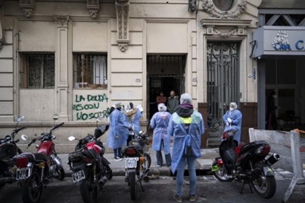 Argentina reports record-high daily Covid deaths - World News in Hindi