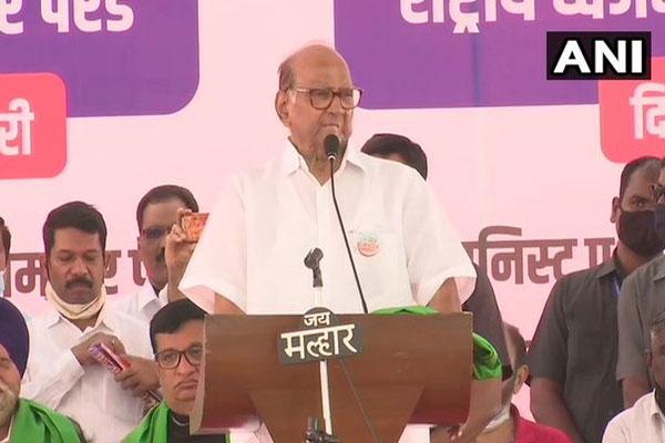 Kisan Rally: Sharad Pawar said - Governor has time for Kangana, not for farmers - Mumbai News in Hindi