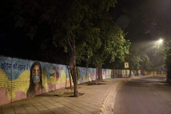 Night curfew in 20 cities of Gujarat - gandhinagar News in Hindi