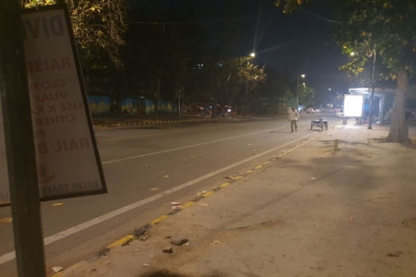 Night curfew will be applicable in 9 more cities of Gujarat from Wednesday - gandhinagar News in Hindi