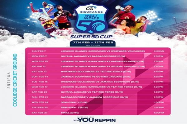 CWI announces Regional Super 50 Cup tournament schedule - Cricket News in Hindi