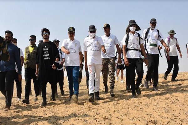 Inauguration of Fit India Mission-200 km in Jaisalmer - Jaipur News in Hindi